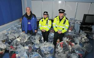 Police counterfeit sting seizes over £30m in Glasgow - Intellectual